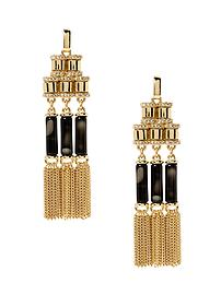 Fringe Benefits Tassel Earring