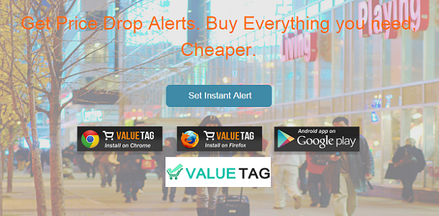 Online Price Drop Alerts from Valuetagapp